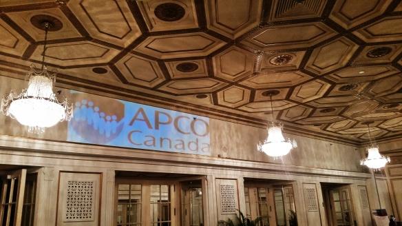 The APCO Canada Lounge