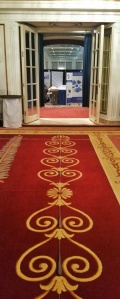 red carpet to the Trade Show